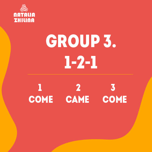 Group 3. 1-2-1